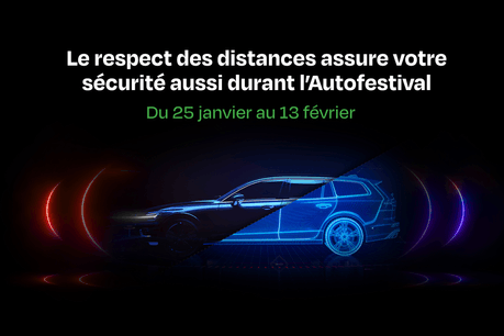 Le respect des distances assure votre sécurité aussi durant l'Autofestival – Du 25 janvier au 13 février. (Photo: FEDAMO)