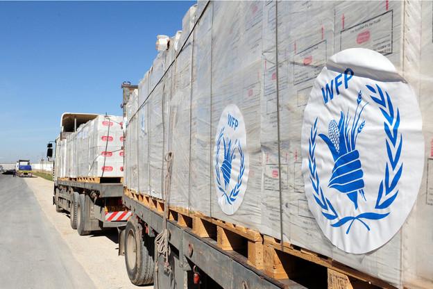Chaque jour, le PAM envoie 5.000camions, 20navires et 92avions sur le terrain pour apporter des vivres et d'autres formes d'assistance. Et chaque année, environ 15milliards de rations pour un coût moyen estimé à 0,31$ par ration sont distribuées. (Photo: Shutterstock)