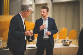 Hansjörg Reimer (Chem) et Yvan Barnabaux (Innov'ICTion) ((Photo: Arthur Ranzy))