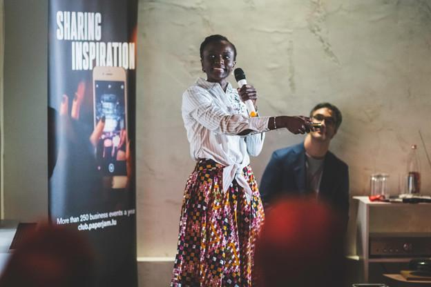 Ahoua Eve Bakayoko (Aurel Ivoire) (Photo: Arthur Ranzy)