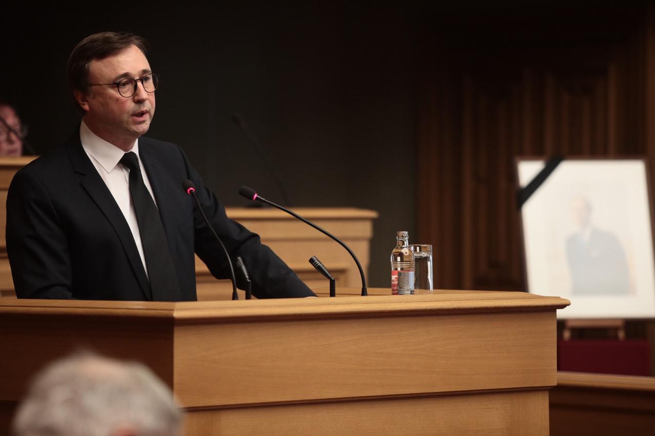 André Bauler défend la méthode progressive choisie par le Luxembourg en matière d'adoption de la blockchain. (Photo: Maison Moderne/Matic Zorman)