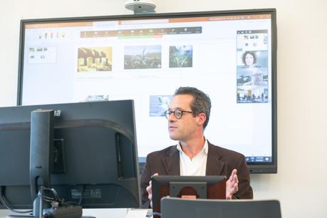 Prolingua proposera bientôt 100% de ses cours collectifs en physique comme en digital. (Photo: Matic Zorman/Maison Moderne)
