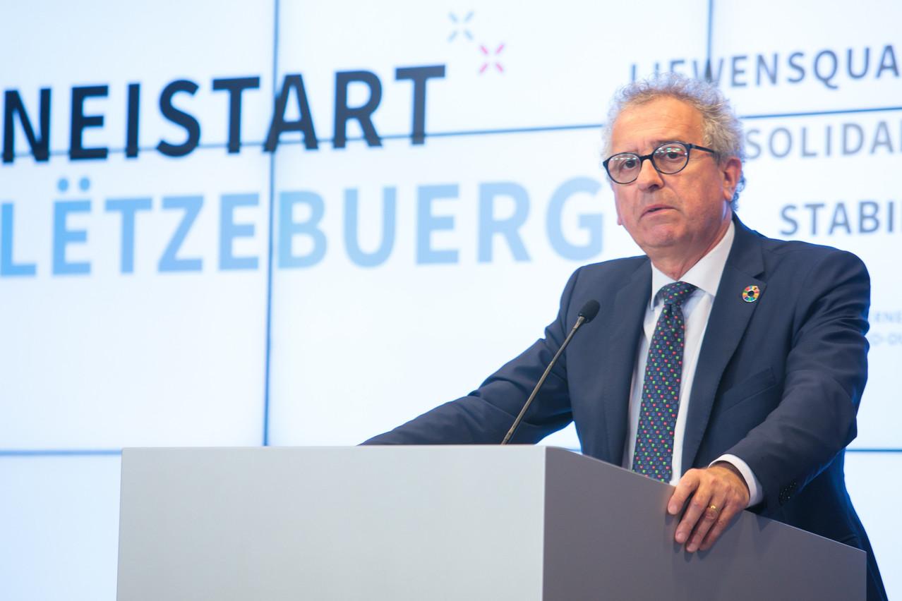 PierreGramegna, ministre des Finances, a proposé au gouvernement de prolonger l'abattementfiscal pour les réductions de loyers accordées à l'année2021. (Photo: Matic Zorman/Maison Moderne)