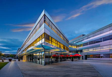 L'Atrium Business Park, au Luxembourg Crédit: Atrium Business Park