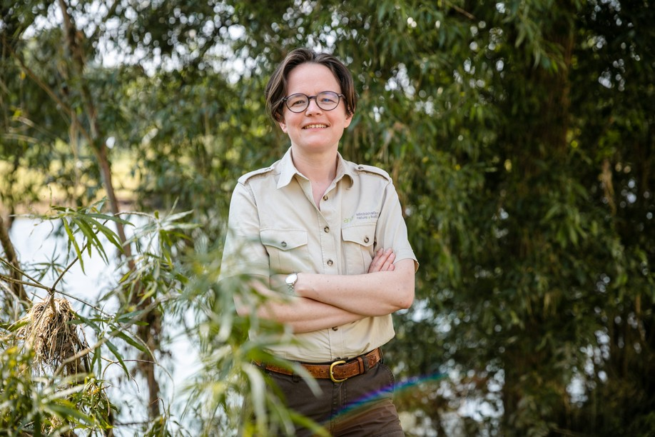Sandra Cellina , pictured, is a biologist and head of the nature section of Luxembourg's nature and forestry department Romain Gamba / Maison Moderne