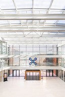 Vue de l'atrium. ((Photo: Patricia Pitsch / Maison Moderne))