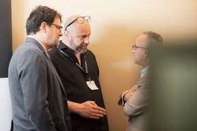 Rudy Lafontaine (Dots), Frédéric Thouillot (Granduchy) et Francis Gasparotto (Maison Moderne) ((Photo: Jan Hanrion/Maison Moderne))