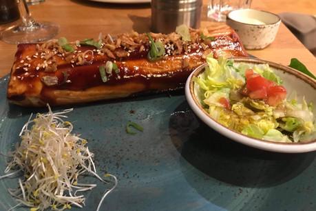 Le burrito de QoSQo: un des seuls moments corrects du repas. (Photo: Maison Moderne)