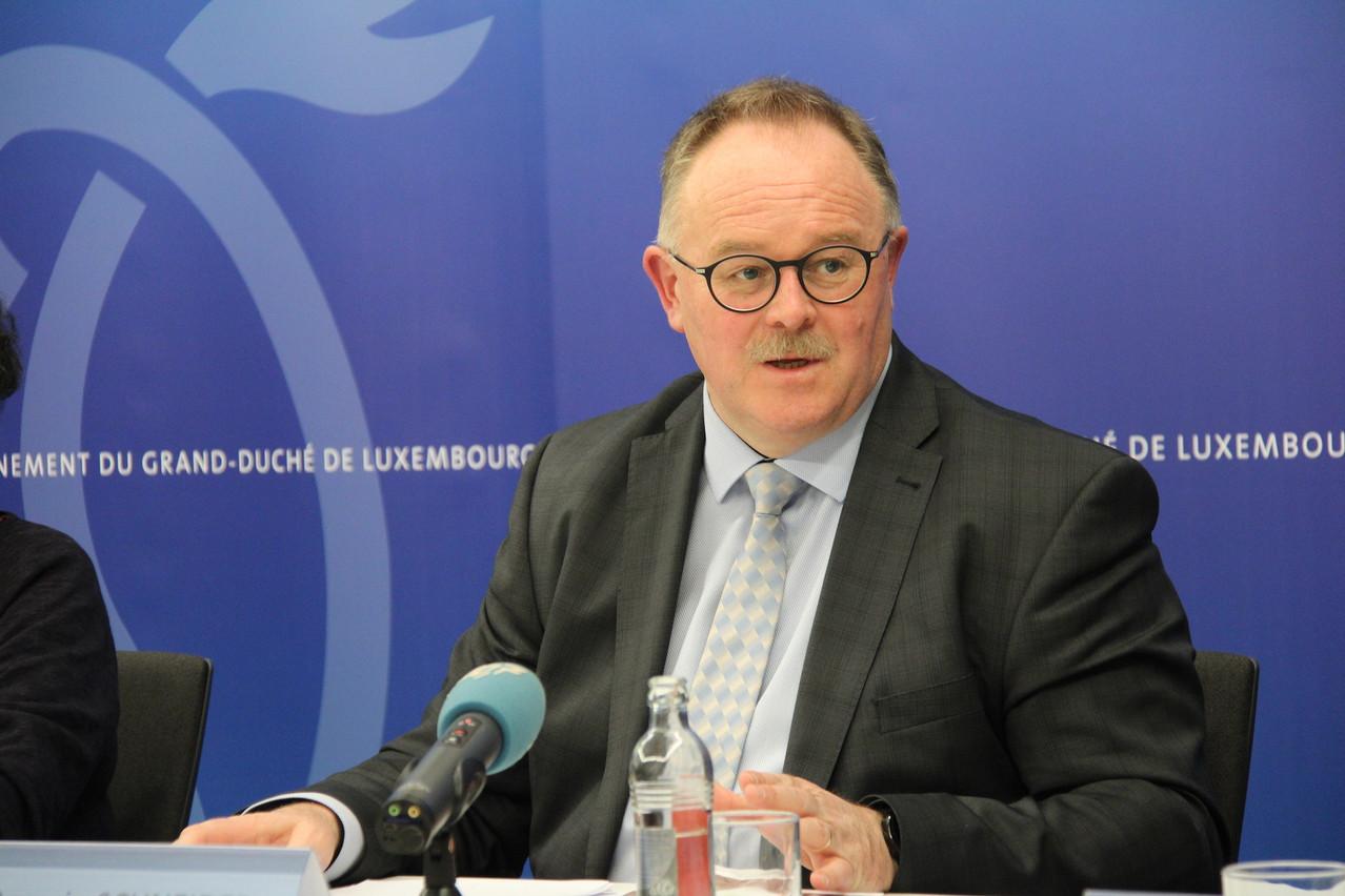 RomainSchneider, ministre de la Sécurité sociale, conduira sa septième quadripartite de printemps, aux côtés de PauletteLenert pour laquelle ce sera une première. (Photo: Ministère de l'Agriculture)
