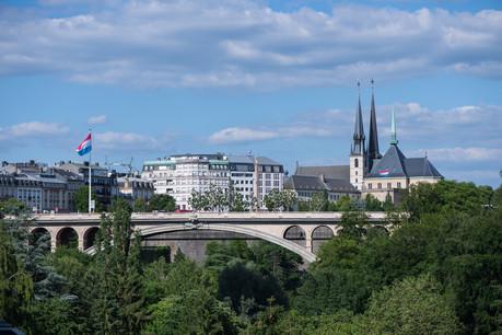 La ville de Luxembourg, avec un taux de PM2,5 de 8,3µg/m³, a une «bonne» qualité de l'air et est classée 47e sur les 323 villes analysées dans le visualiseur de l'AEE. (Photo: Nader Ghavami/Maison Moderne)