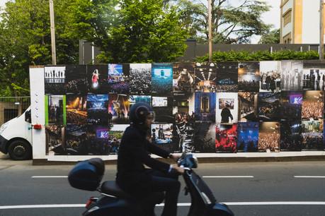 Vue de la campagne d'affichage «Chaleur humaine». (Photo: Sven Becker)