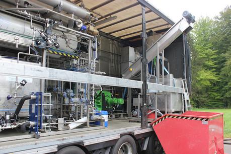 Au cours des derniers mois, une dizaine de machines ont été installées, aussi bien pour le recyclage de l'eau dans des écoquartiers que pour réduire les effluents sur les sites de méthanisation. (Photo: Ama Mundu Technologies)