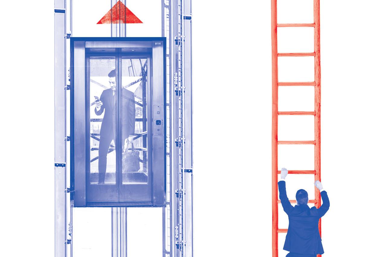 Si le salaire moyen est élevé au Luxembourg, c'est en partie parce que dans certains secteurs, les rémunérations grimpent en flèche.  (Illustration: Sofia Azcona)