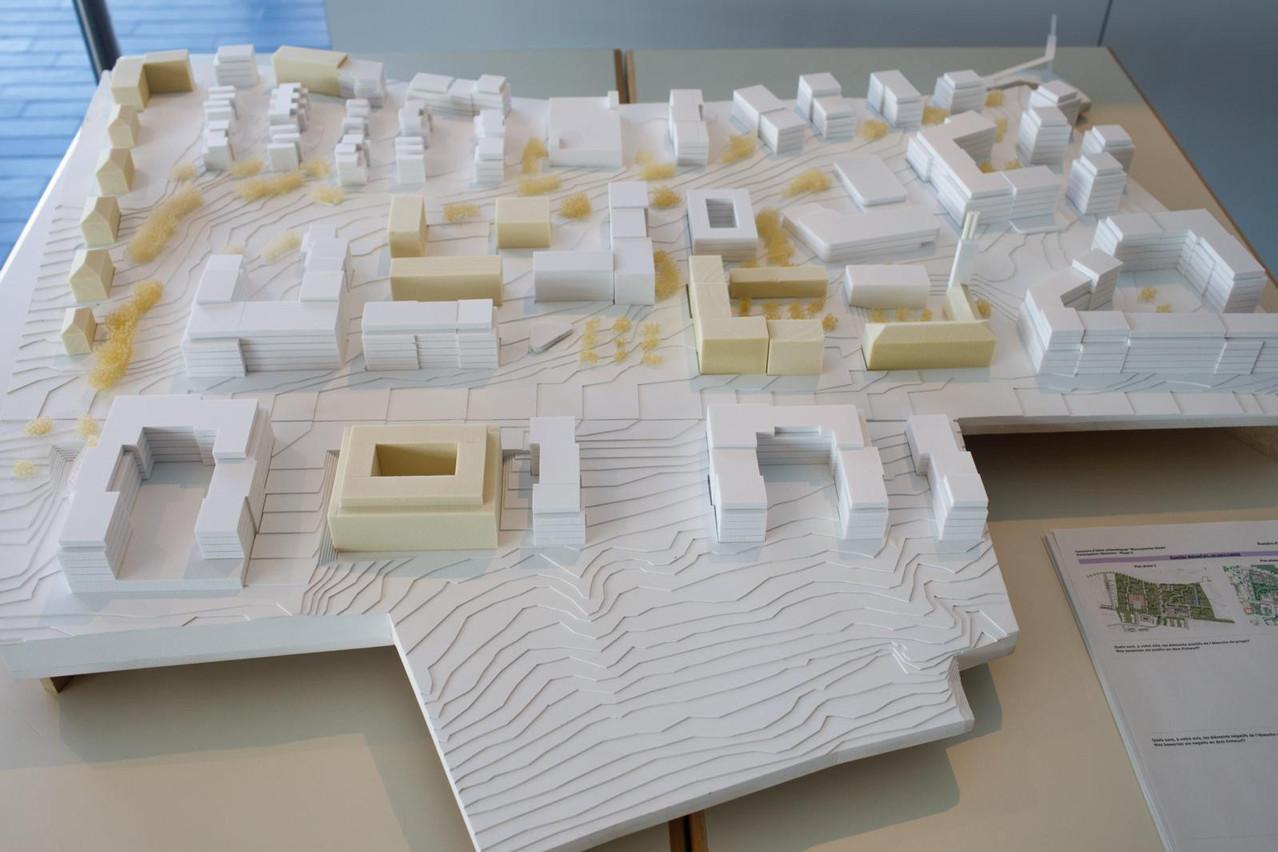 Vue de la maquette du projet. (Photo: Matic Zorman/Maison Moderne)