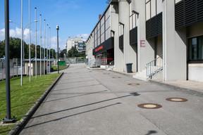 Le périmètre extérieur de l'enceinte. ((Photo: Matic Zorman/Maison Moderne))