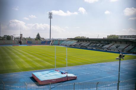 Le stade Josy Barthel, ce 1er septembre. L'enceinte fera bientôt place à un nouveau quartier. (Photo: Matic Zorman/Maison Moderne)