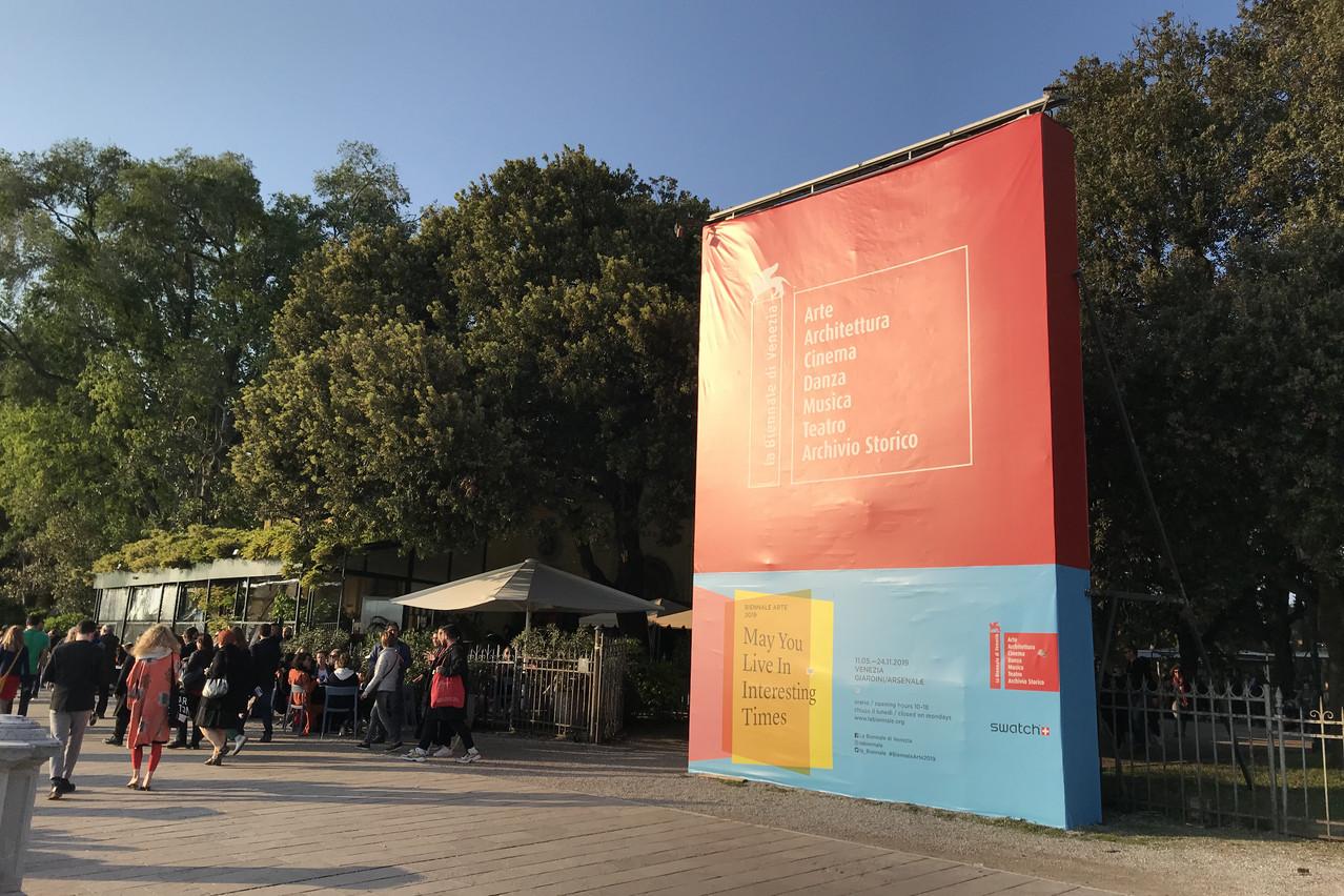 Sélection d'expositions à voir pendant la 58e Biennale d'art de Venise. (Photo: Paperjam)