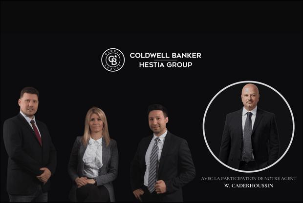 Charlie Luthar, Caroline Gachet, Michel Cucchiara et William Caderhoussin – HESTIA GROUP Coldwell Banker. (Crédit photo: Coldwell Banker)