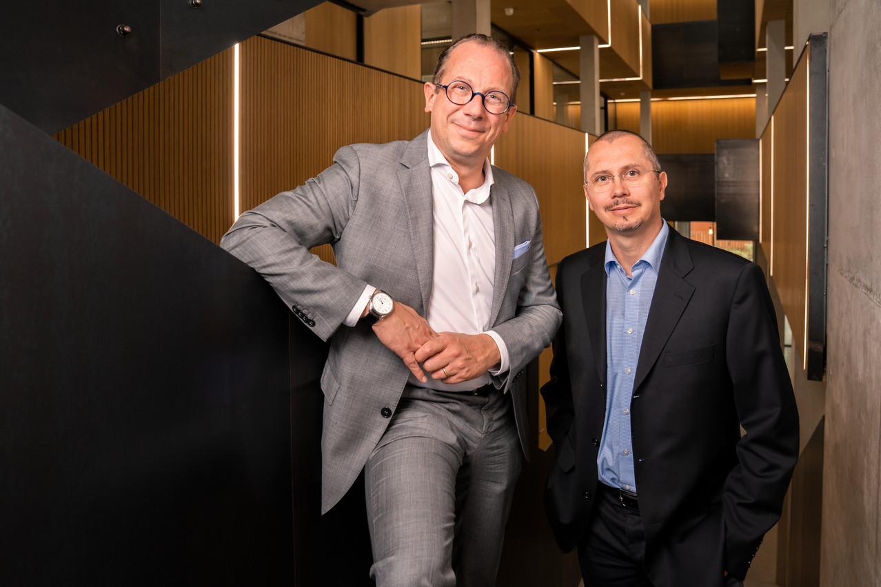 MartinSchnögass et EricRosin d'act360° conseillent les promoteurs et les communes dans le cadre du Pacte logement2.0. (photo: act360°)