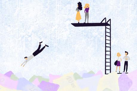 Gregory Vandendael: «Si l'on ne choisit pas de mettre ses actifs au travail, chacun s'appauvrit progressivement un petit peu.» (Illustration: Maison Moderne)