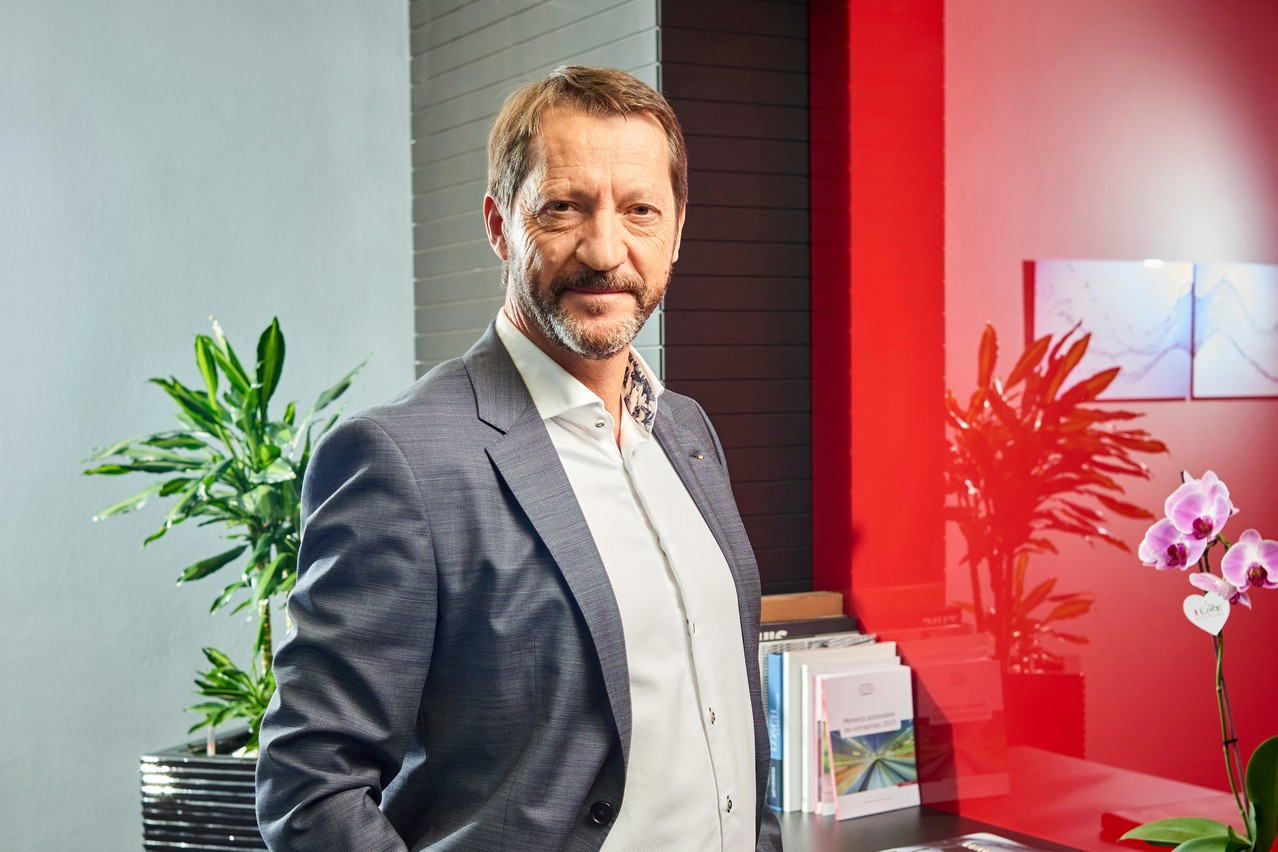 Gerry Wagner: «La voiture est, et restera, un élément essentiel de la chaîne de mobilité.» (Photo: Andrés Lejona/Maison Moderne)
