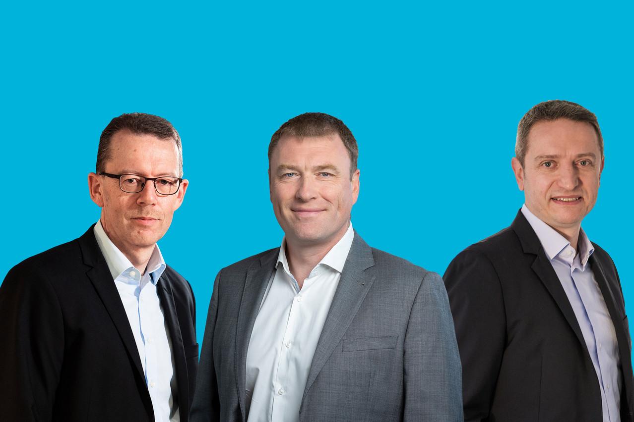 Pierre Zimmer, Olivier Vansteelandt, David Gray, nous expliques quelles technologies seront à suivre en 2021. (Montage: Maison Moderne)