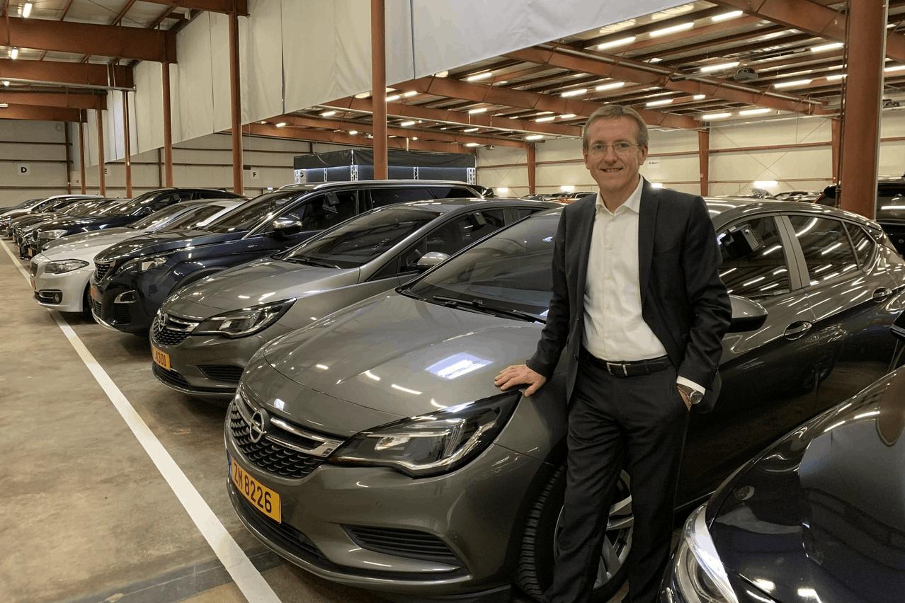 L'administrateur délégué d'ALD Automotive Luxembourg, DominiqueRoger, confirme que les leasers avancent vers un réseau électrique, mais que la progression n'est pas simple. (Photo: Paperjam)