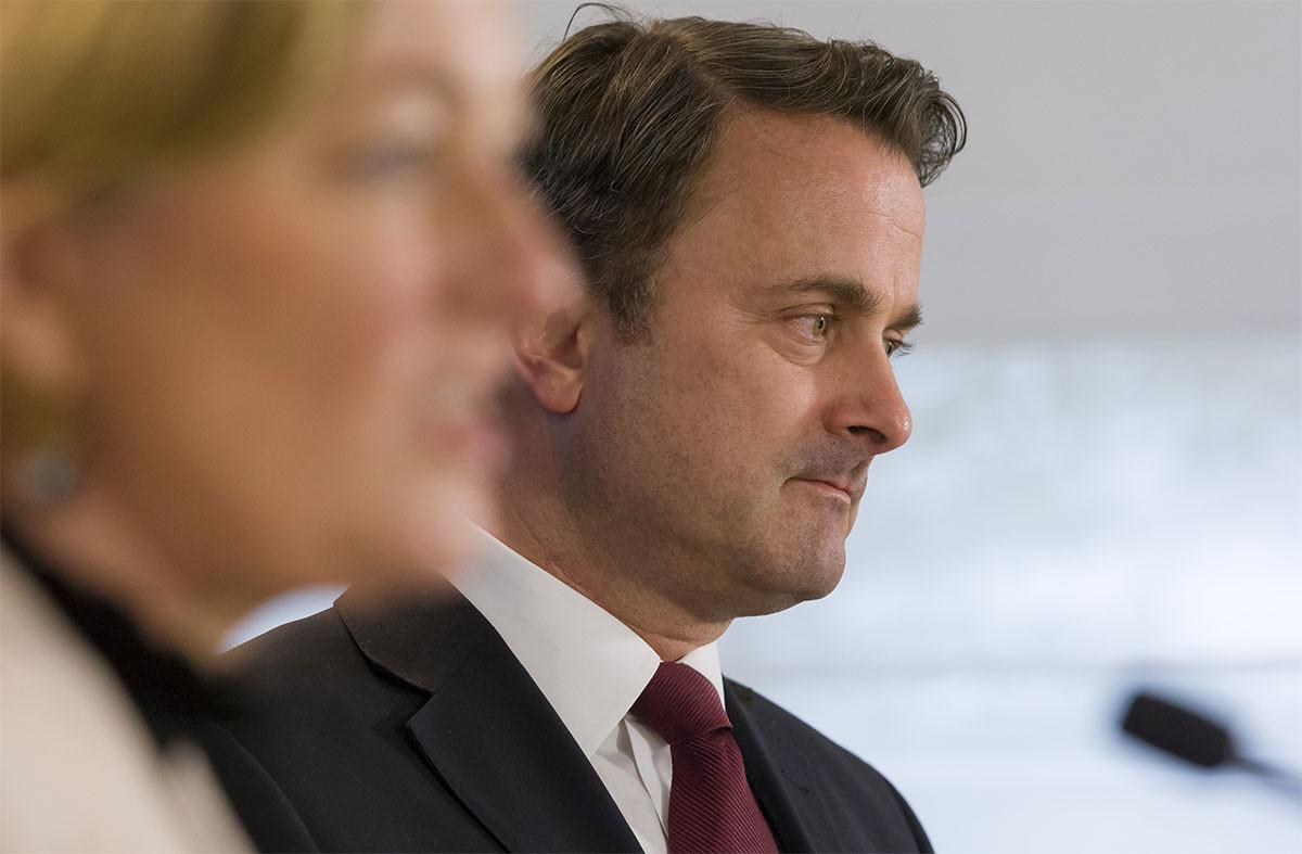 «Celui qui pense qu'il faut tout rouvrir maintenant se trompe», a lancé le Premier ministre. (Photo:SIP / Jean-Christophe Verhaegen)