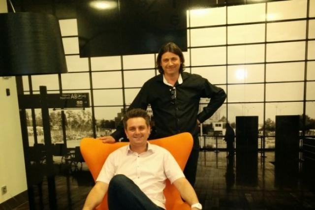 David Mariotti et Sébastien Poletto, l'équipe dirigeante de RDVillico. (Photo: DR)