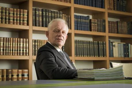 Frank Molitor, président de la Chambre des notaires: «Le notaire de type latin continue à être le garant de la sécurité juridique par excellence.» (Photo: Julien Becker / Archives)
