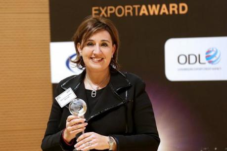 Pour Marie-Christine Mariani, le relationnel est très important pour exporter ses produits. (Photo: Luc Deflorenne)