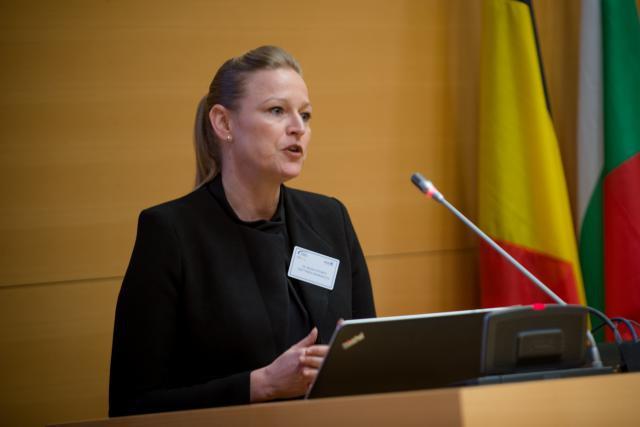 Miriam Steimer: «Dans le courant du second trimestre 2016, nous commercialiserons toute une série de produits lyophilisés.» (Photo: Christophe Olinger / archives)