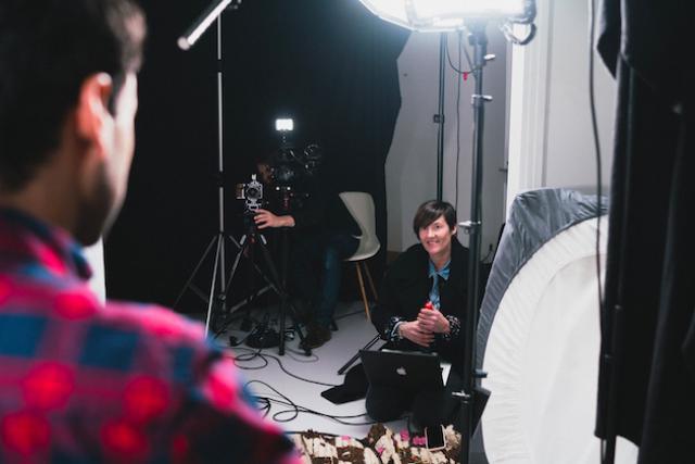 Frédérique Buck a mené 15 interviews pour réaliser le film. (Photo: Sven  Becker)