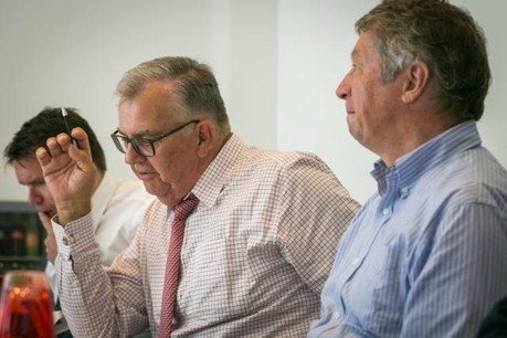 Victor Rod et les six membres du jury se sont réunis à trois reprises pour effectuer un important travail de sélection des lauréats. (Photo: Maison Moderne)
