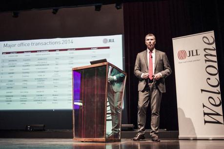 Romain Muller présentera ce soir les perspectives pour 2016 du marché immobilier luxembourgeois, ainsi qu'un bilan de 2015. (Photo: Jessica Theis)