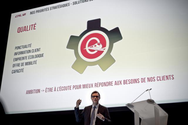 Pour Marc Wengler, directeur général des CFL, la nouvelle stratégie dévoilée doit avant tout être l'occasion de mettre à profit l'expertise des CFL pour créer «une nouvelle chaîne de mobilité». (Photo: Mike Zenari)