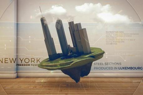 Le nouveau spot met en exergue la trace des produits - non financiers - du pays à l'étranger. (Photo: DR)