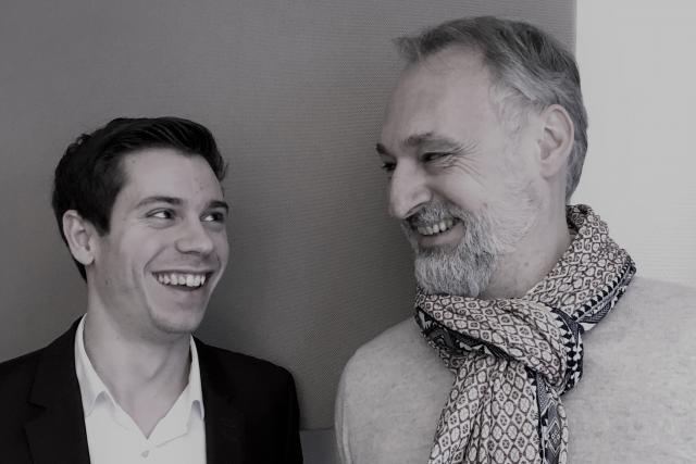 Charles Pozzo Di Borgo et Enrico Mela: «Nous recherchons les rencontres et l'échange avec les autres membres lors des événements.» (Photo: Celis Real Estate)