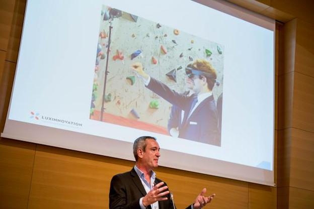 David Foy (Luxinnovation): «Les applications de réalité virtuelle en streaming profiteront beaucoup de la 5G. (Photo: Nader Ghavami / archives)