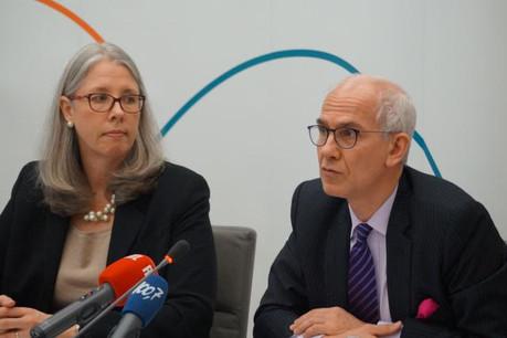 Pour Marc-André Bechet (à droite), Ucits V ne laisse plus de doute quant à la responsabilité de chaque maillon de la chaîne. (Photo: Alfi)