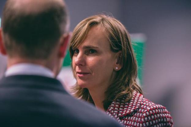 Karin Scholtes se prépare à accueillir 600 candidats dans le cadre d'un job dating ce samedi 27 juin.  (Photo: Sven Becker / Archives)