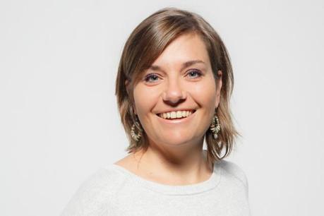 Céline Coubray: «Nous avons tenu nos promesses pour le numéro qui sort le 14 octobre, avec un magazine entièrement repensé.» (Photo: Jan Hanrion)