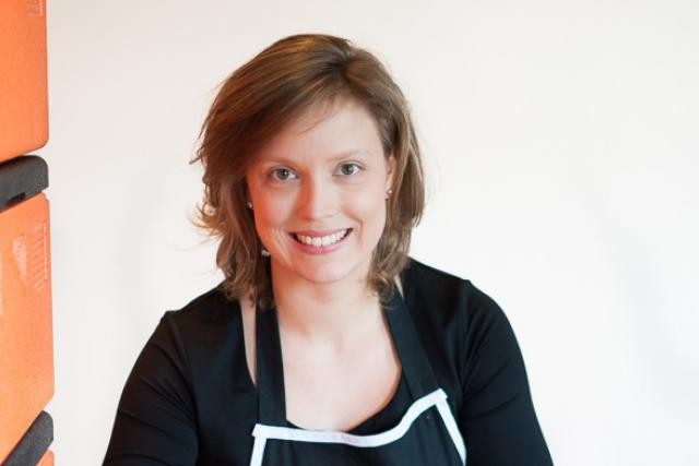 Kristina Rasmussen, CEO, militante de la vie saine (Photo: Annabelle Denham)