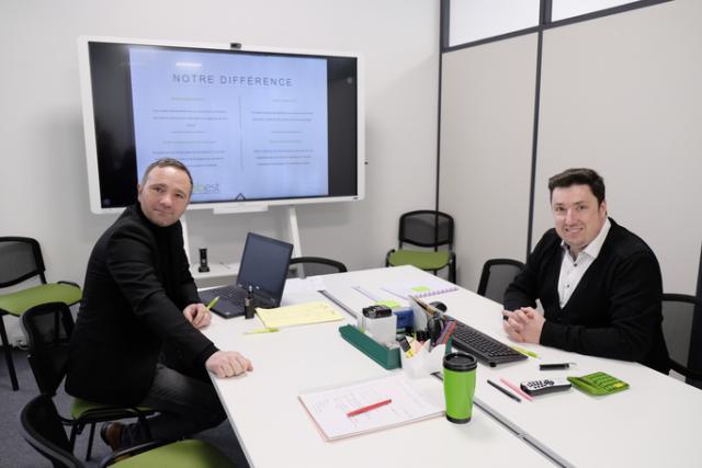 Michaël Damasio, General Manager de MyJobest, à droite. (Photo: MyJobest)