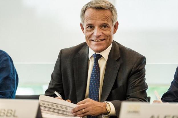 Pour Guy Hoffmann, président de l'ABBL, «beaucoup de décisions liées au Brexit seront prises au cours des 6 à 12 prochains mois». (Photo: Mike Zenari)