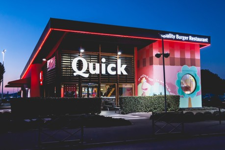 Kharis Capital détient les Quick de Belgique et du Luxembourg. (Photo: Shutterstock)