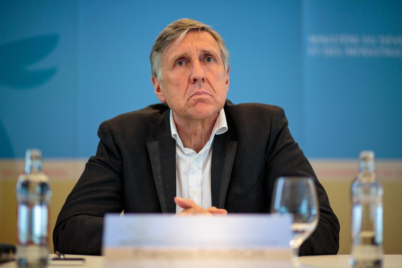 François Bausch anticipe une rentrée marquée par un débat à la Chambre sur le «casier judiciaire bis». (Photo : Matic Zorman/Archives/Maison Moderne)