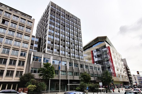 Quintet Private Bank (ici, son siège à Hamilius) compte actuellementplus de 2.000collaborateurs et gère 85milliards d'euros d'actifs clientsen Europe. (Photo: Maison Moderne)