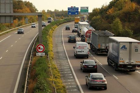 Les frontaliers et les vacanciers empruntant l'A31 au niveau de Thionville devront abaisser leur vitesse à 70km/h sous peine de se faire flasher. (Photo: A31bis.fr)