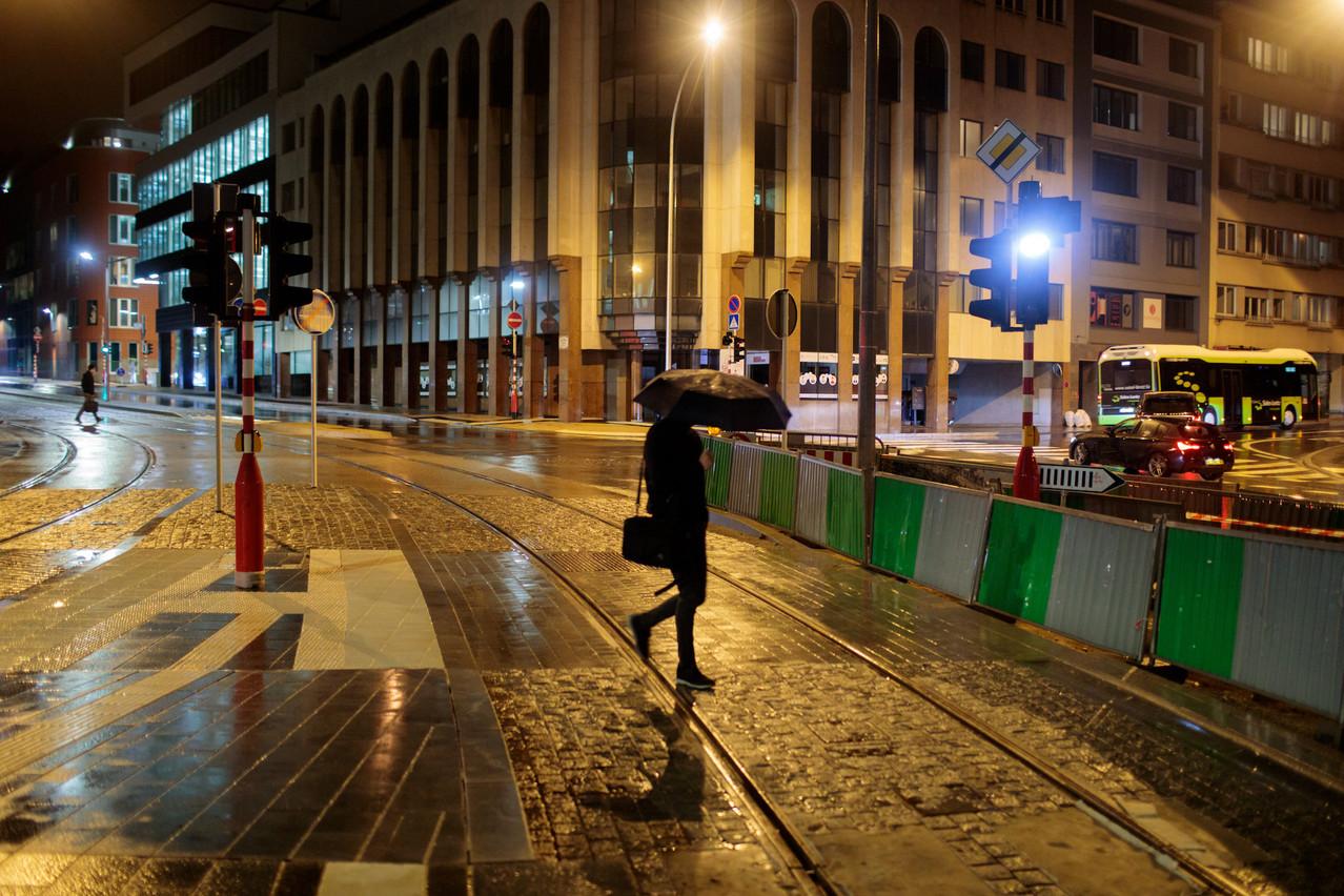 La place de l'Étoile, lieu stratégique de la circulation dans la capitale,accueillera le premier radar de feux tricolores. (Photo: Matic Zorman/Maison Moderne)
